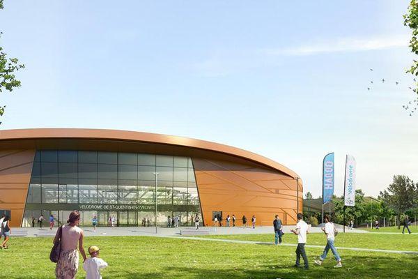 Le vélodrome couvert devrait être ouvert fin 2013