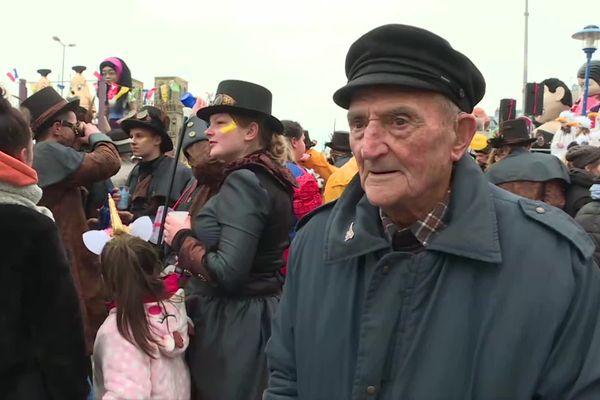 Joseph, le doyen du Carnaval de Granville