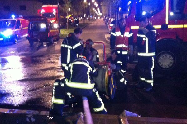 Les pompiers mobilisés suite à un incendie à Chantepie