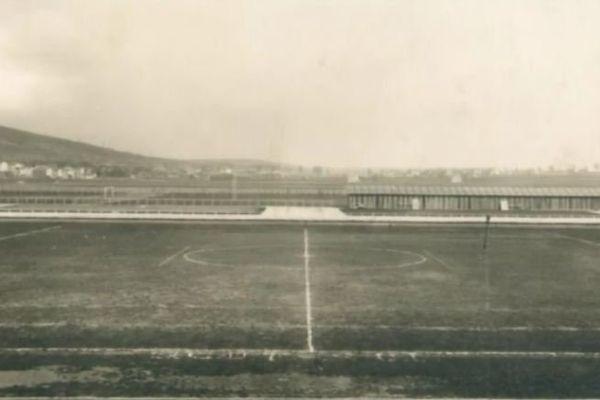 Le stade Marcel Picot à ses débuts.