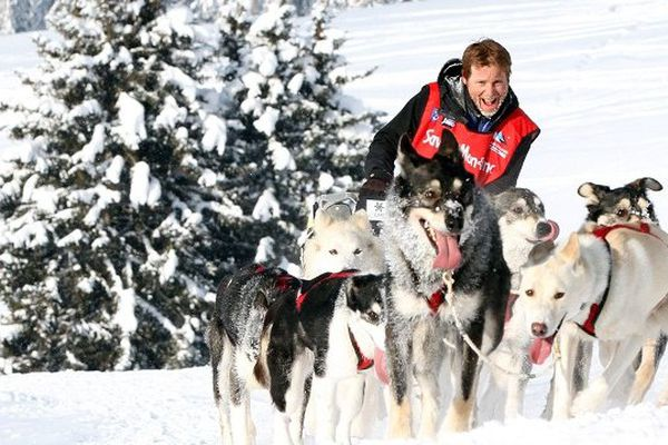 Le musher Jean-Philippe Pontier