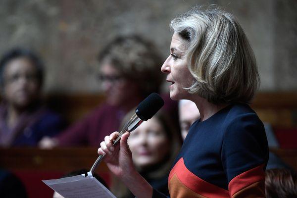 Laure de la Raudière, députée d'Eure-et-Loir (Agir_la droite constructive) © AFP