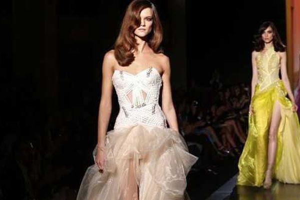 Défilé Versace haute couture 2012-2013