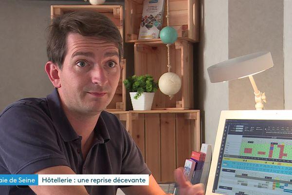 Thomas Richard, patron du Petit Vatel au Havre.