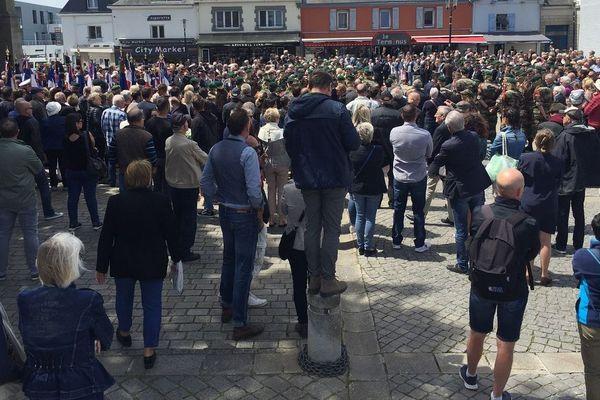 Une foule nombreuse pour rendre hommage à Cédric de Pierrepont à Larmor-Plage