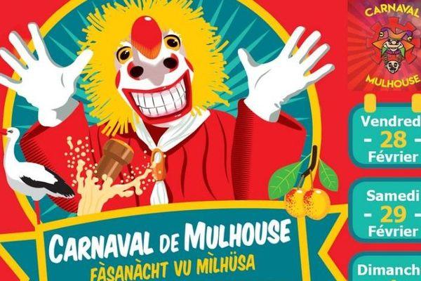 Affiche du carnaval de Mulhouse