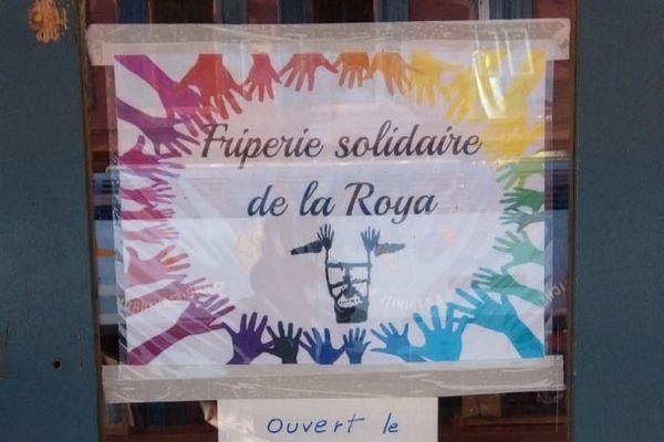 Cette friperie solidaire est située dans la gare de Breil-sur-Roya.