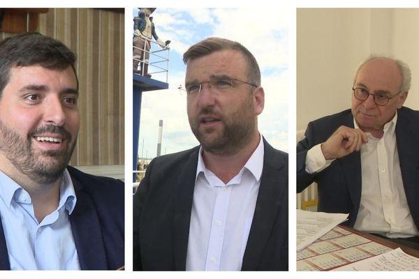 Le maire centriste sortant Florent Fatin, le RN Grégoire de Fournas et William Pouyalet divers droite s'affrontent dans la bataille des municipales 2020 à Pauillac, en Gironde.