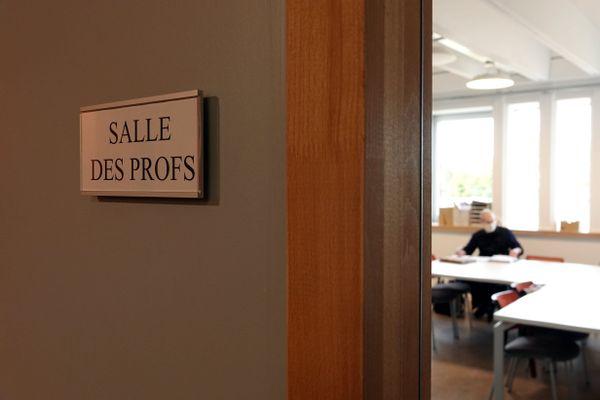 Une salle des professeurs en France. Image d'illustration.