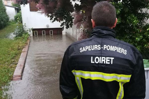 La commune de Saint-Jean-de-Braye, de nouveau victime des inondations.