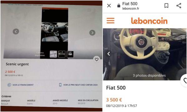 En décembre 2019, Arnaud a mis en vente sur Leboncoin les voitures de la famille de Pauline, en indiquant son numéro de téléphone.