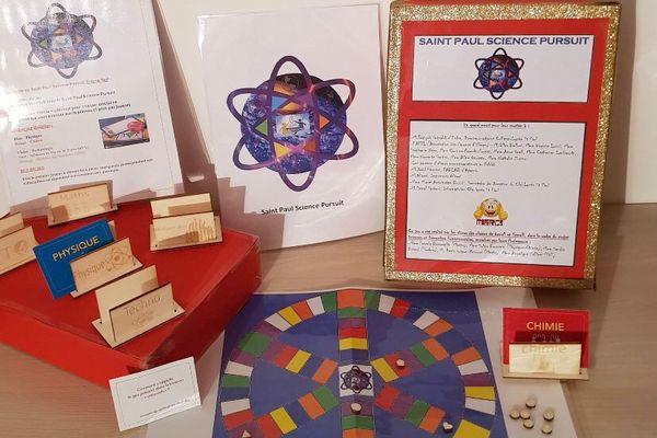 Le Trivial Pursuit Scientifique créé par les élèves du collège Saint-Paul.