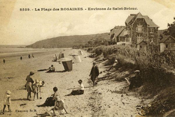 Station balnéaire des Rosaires (Plérin-sur-Mer) au début du 20ème siècle
