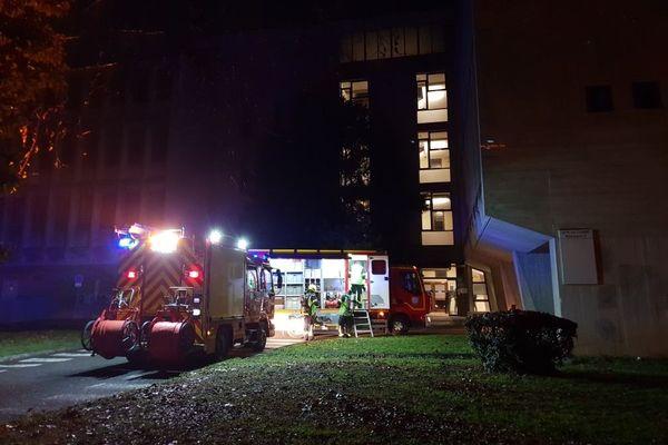 L'explosion s'est produite dans un laboratoire du campus de Grenoble