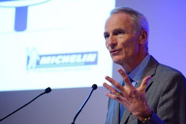 Lors d'une conférence de presse à paris le 26 juillet, le président du groupe Michelin, s'est félicité du bon bilan de l'entreprise pour le premier semestre 2016.