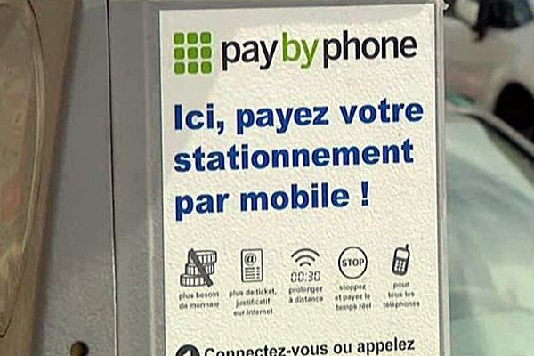 Le stationnement au Havre peut désormais être payé grâce à son smartphone.