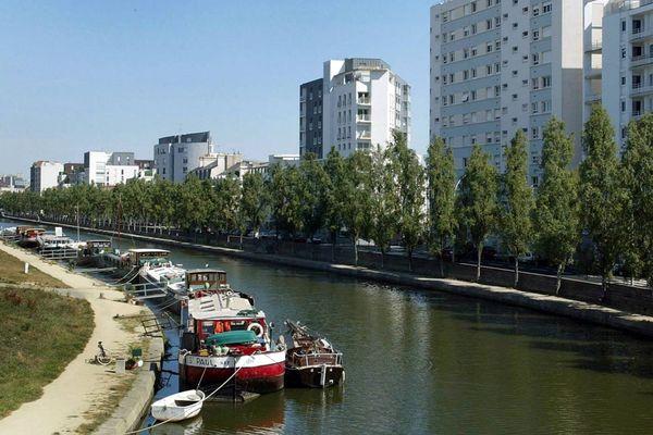 Quai Saint Cyr à Rennes