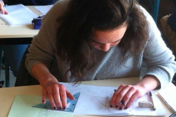 Mercredi 18 mars, c'était épreuve de maths pour les élèves chinois et ceux du lycée Joliot-Curie à Rennes
