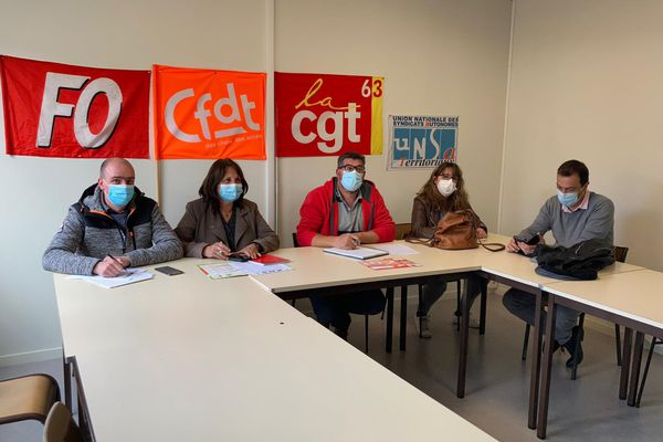 Quatre des six syndicats de Clermont-Ferrand mènent la grève des agents municipaux, une entente plutôt rare.