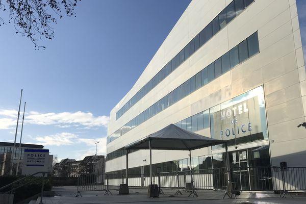Le commissariat central de Strasbourg.