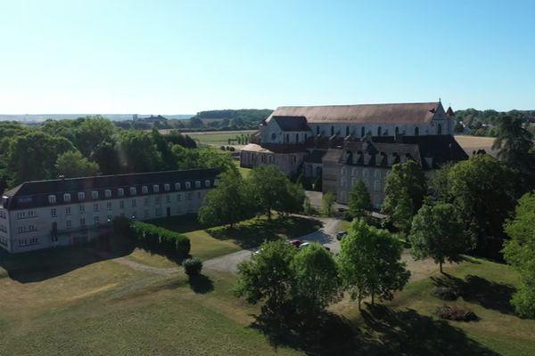 L'abbaye de Pontigny et son domaine.