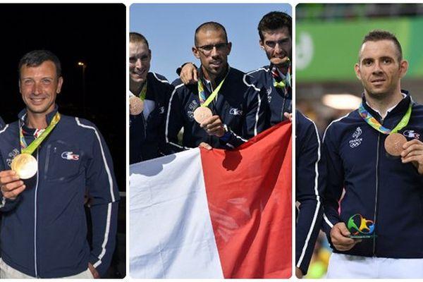Valette, Raineau, Pervis, le trio gagnant des Pays de la Loire à Rio