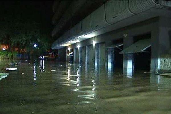 inondations à Ste-Maxime dans le Var