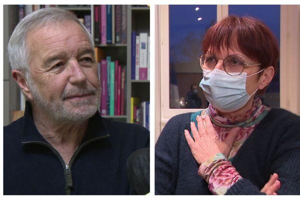 François Rebasemen et Anne Vignot s'associent pour un communiqué concernant la vaccination Covid-19.