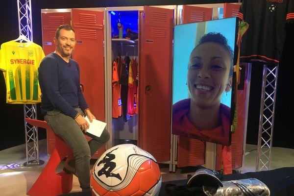 Anaïs Ribeyra, l'attaquante du FC Nantes, est l'invitée d'Anthony Brulez et de l'émission #USBFOOT