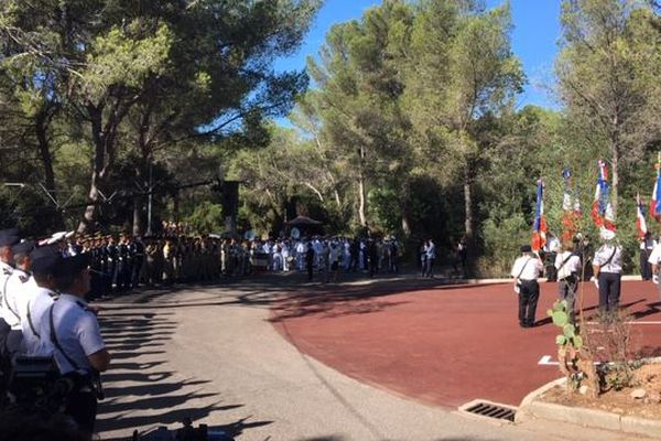 La cérémonie d'hommage au 75 ans du débarquement de Provence se déroule ce jeudi à à la nécropole nationale de Boulouris dans le Var