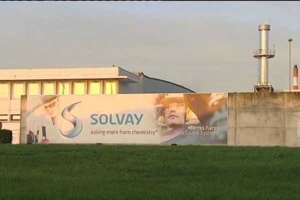 L'usine Solvay à La Rochelle est classée site Seveso.