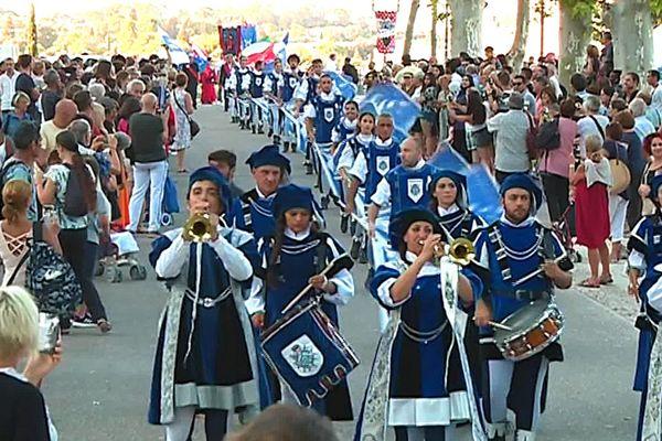 Montpellier célèbre la Saint-Roch.