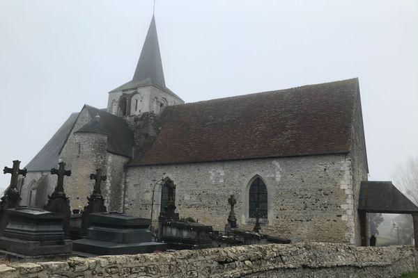Le montant total des travaux sur l'église de Ménerval est estimé à 1,5 million d'euros.