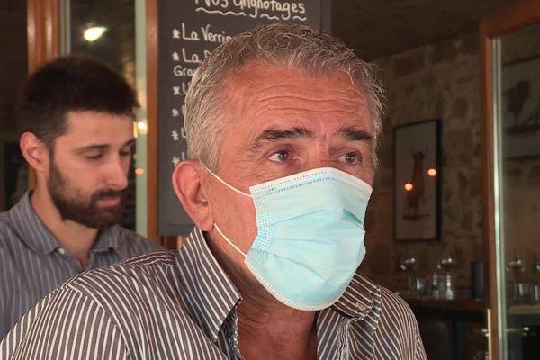 Pierre Cardonne, restaurateur à Marciac