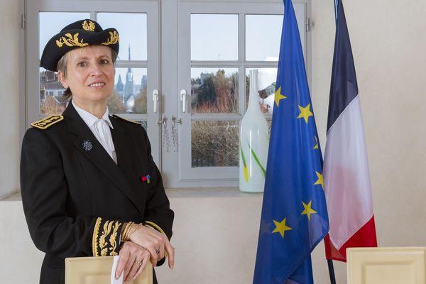 Fabienne Buccio, nouvelle Préfète de la région Nouvelle-Aquitaine, préfète de Gironde a pris ses fonctions ce lundi 15 avril 2019