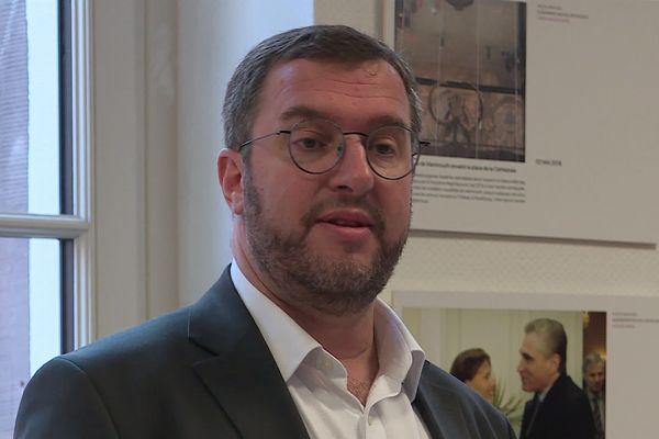Mathieu Cahn, le 5 février à Strasbourg