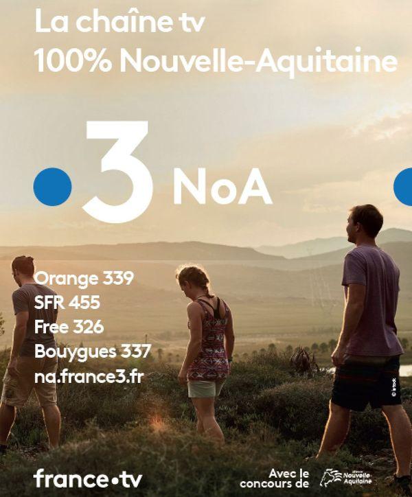 Sur vos box, suivez la nouvelle chaîne France 3 NoA. Sur le site na.france3.fr