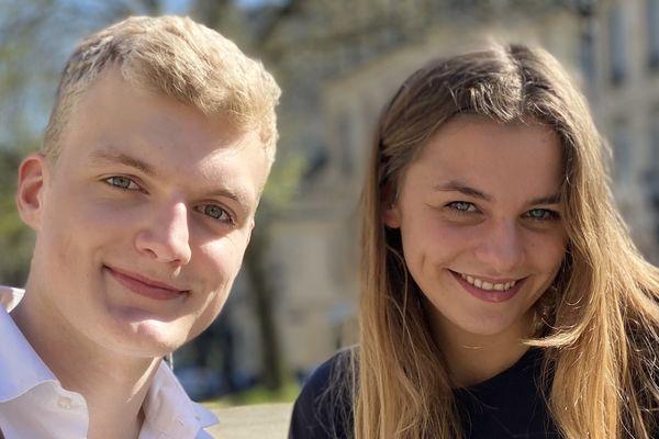 Mats Pelser et Juliana Girard co-créateurs de Chasse ton vin .