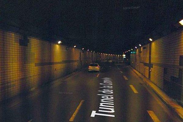 Montpellier - le tunnel de la Comédie - archives
