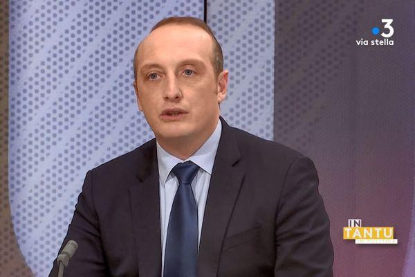 Laurent Marcangeli, maire d'Ajaccio