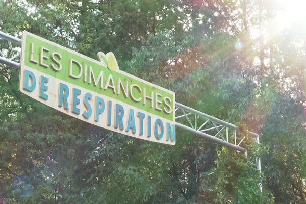 Première édition des Dimanches de respiration, avenue de Toulouse à Montpellier. Tous les derniers dimanches du mois, la Ville va interdire l'accès aux voitures à un quartier et y installer des animations musicales, sportives et culturelles