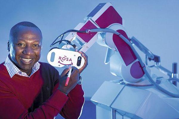 Montpellier - Bertin Nahum, fondateur de Medtech et le robot chirurgical Rosa - archives
