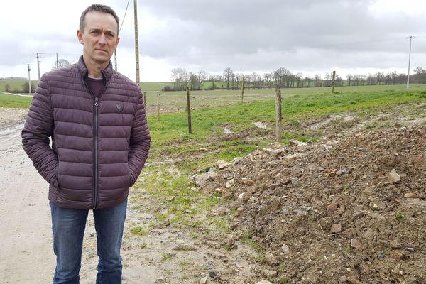 Alain Crouillebois, éleveur de l'Orne engage une procédure contre Enedis suite à des perturbations électriques sur son exploitation (29/01/2020)