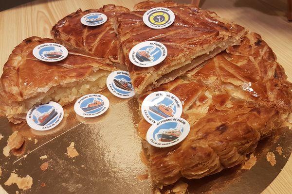 La galette des rois rend hommage à la SNSM de Saint-Malo
