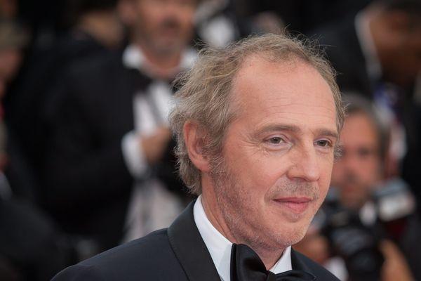 Arnaud Desplechin en 2016 au Festival de Cannes, où était aussi présente Agnès Varda