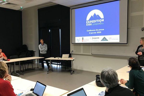 Ce mercredi 8 janvier 2020, les membres d'Expédition 5300 organisaient une soirée au Musée de Grenoble pour livrer leurs conclusions et projeter leur documentaire.
