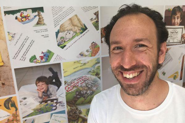 Rémy Perla, inventeur et fondateur de l'entreprise Epopia