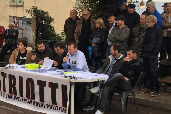 24/11/2018 - Conférence de presse Patriotti samedi matin à Cargese.