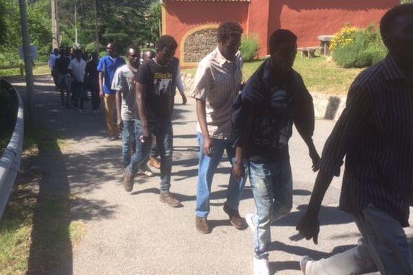 Migrants à Breil-sur-Roya