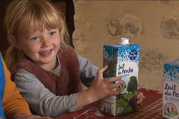 """Cinq éleveurs se sont associés pour lancer """"le lait du Perche"""""""